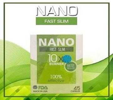 NANO Fast Slim Fast Slimming Product 45 Capsules   USA
