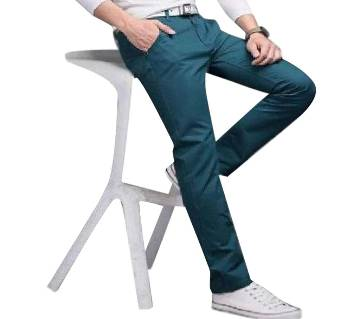 Mens Semi Narrow Gabardine  Pant