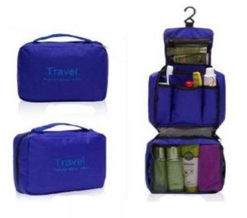 Travel wash bag - Blue