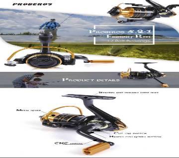 Reb - 7000 Metal Spool Spinning Fishing Reel