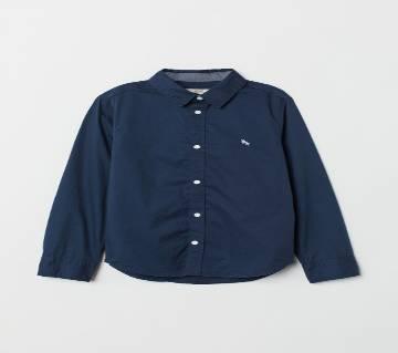 Boys Shirt Cotton Long Sleeve Original Branded