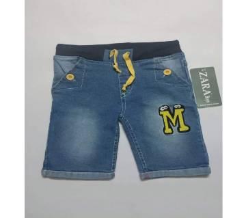 Boys Branded Denim/Jeans Half/Short Pant For 2-6 Years