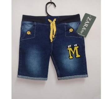 Boys Branded Denim/Jeans Half/Short Pant For 2 to 6 Years