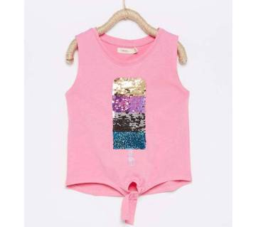 Girls Fancy Branded Tops For 3 to 12 Years