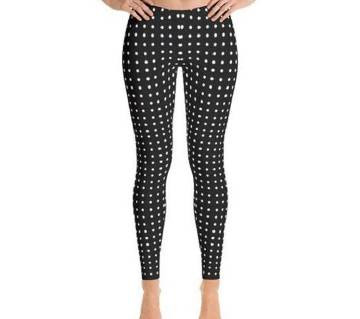 Women/Ladies Printed Cotton Elastic Leggings
