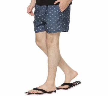 Brave soul prints Flower Stripe Swim shorts  for Men