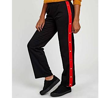 Stylish Wide Trousers/Plazo With Buttons For Teen/Ladies