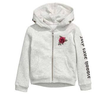 Printed Hooded Jacket For Teen/Ladies
