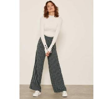 Casual Wide Leg Palazzo Pant For Women