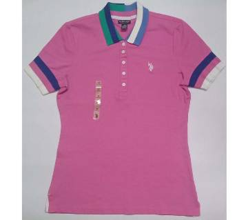 Ladies Mixed Branded Fashionable  Polo Shirt