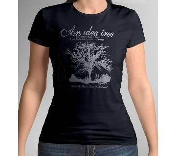 Half Sleeve Cotton T Shirt For Women
