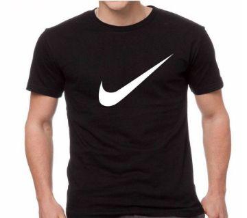 Men Half Sleeve Cotton T-Shirt