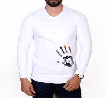 Full Sleeve Cotton T Shirt