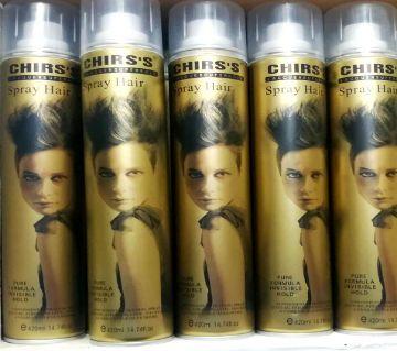 Chirs Spray Hair 420ml  China