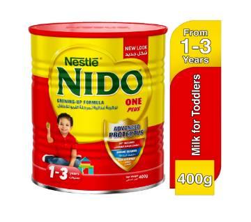 Nido One Plus Growing Up Milk 400gm Dubai
