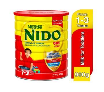 Nido One Plus Growing Up Milk  900gm Dubai