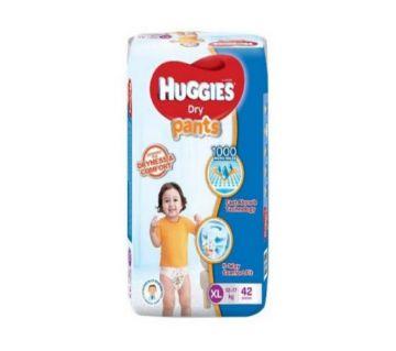 Huggies Dry Pants Diaper- (12-17 kg)- XL- (42 pcs, Malaysia)