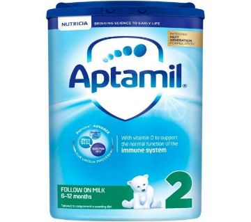 Aptamil 2 Follow on Milk from 6 to 12 months (900gm, UK)