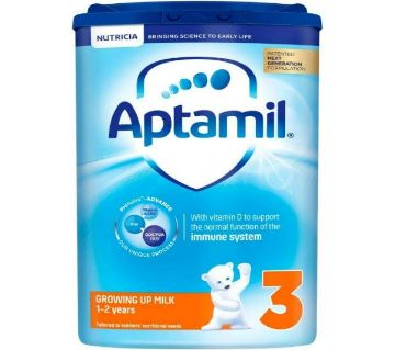 Aptamil (3) Growing Up Milk from 1-2 years (900gm, UK)