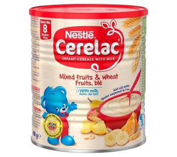 Nestle Cerelac Mixed Fruits & Wheat with Milk- 1kg- Switzerland
