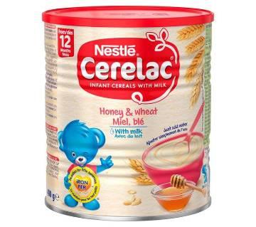 Nestle Cerelac Honey & Wheat with Milk- 1kg- Switzerland