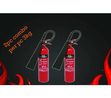Fire Extinguisher-3kg / 2pc combo