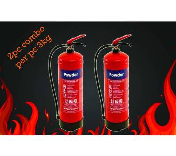 Fire Extinguisher-3kg Combo of 3 pieces
