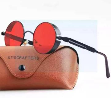 Gothic Steampunk Round Metal Sunglasses for Men Women Mirrored Circle Sun glasses Brand Designer Retro Vintage Oculos UV400 sunglasses