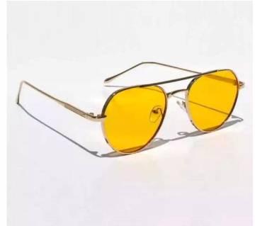 Yellow Fashionable Sunglasses For Men