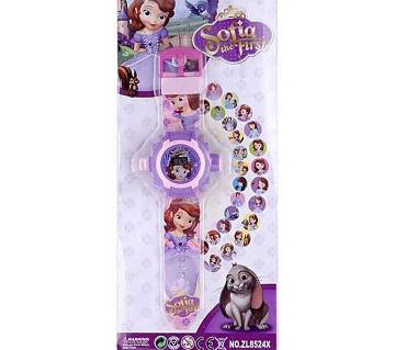 Projector Watch for Kids - Violet