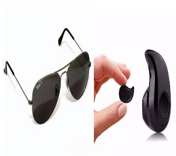 Ray Ban Gentts Sunglasses copy + Mini Wireless Bluetooth Earphones