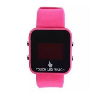 Rubber Touch LED Digital Watch for Boys
