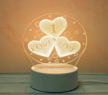 3D LED Decoration Lamp ILU