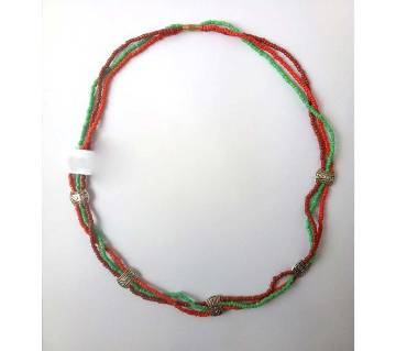 Green & Red color  Necklace