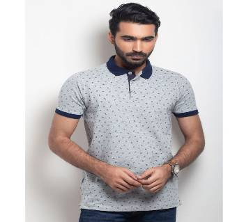 Menz Half Sleeve Printed Polo Shirt