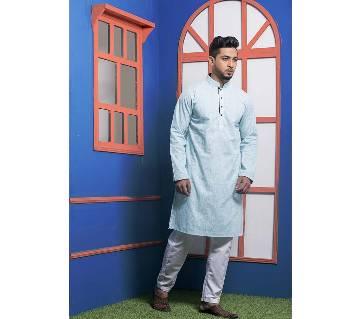Menz Cotton Semi Long Panjabi - 11