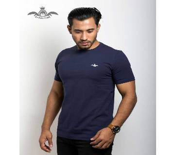 Masculine Solid Color T-Shirt