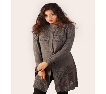Ladies Long Sweater  Cardigan