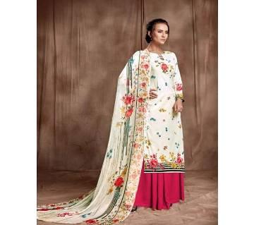 Belliza Designer Unstitched Studio-Salwar Suits