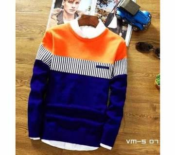 Sweatshirt with Premium Vestmen