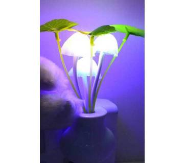 Dim Mashroom Light Yellow Flower - Multicolor