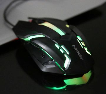 Banda USB [F1] Black 800-2400 DPI Gaming Mouse - F1-W