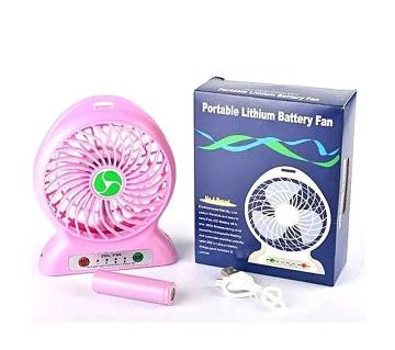 portable mini usb rechargable fan