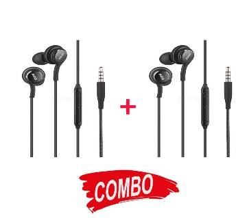 AKG ইয়ার ফোন Version 2 - 2 pcs combo (Noise Control)