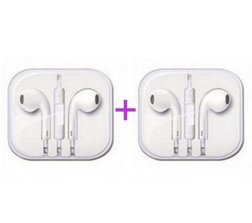 Apple Earphone (Replica)- 2 pcs