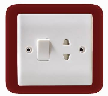 2 Pin Switch Socket - 5 pcs