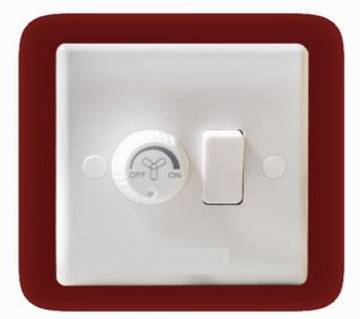 Fan Dimmer With Switch - 2 pcs
