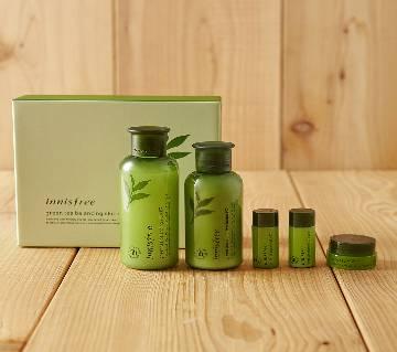 Innisfree Green Tea Balancing Skin Care Set-Korea