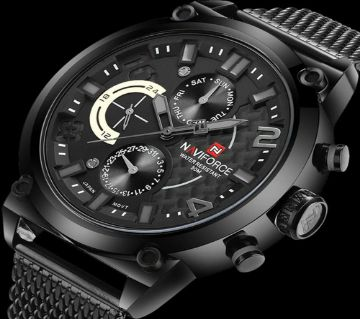NAVIFORCE NF9068S Luxury Stainless Steel WATCH FOR MEN-2019