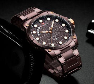 NAVIFORCE 9152 Men Luxury Brand Stainless Steel Wrist Watch for Man